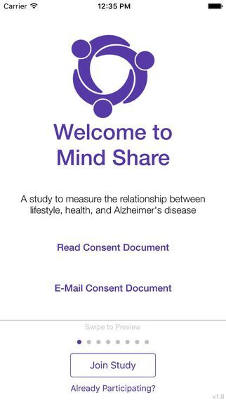 Mind Share ResearchKit